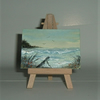 aceo watercolour seascape art (ref f336)