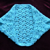 SALE....child's chunky crochet bolero shrug ( ref F 687)