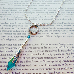 Filigree Pendant Necklace Turquoise & Silver