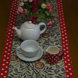 William Morris With A Modern Twist Table Runner