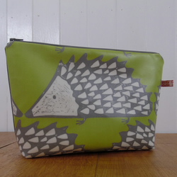 Spike the Hedgehog print large cosmeic bag