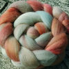 "RESERVED FOR **WonkyKnitter** ""Crazy Crystal"" (1) MHE Falkland Spinning Fibre 90g"
