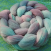 """French Riviera"" MHE Shropshire Lambs wool Spinning Fibre 100g"