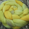 "SALE ""Puff"" MHE Shropshire Lambs wool Spinning Fibre 110g"