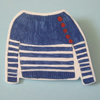 RESERVED FOR LAURA. WASHING ACCIDENTS- NAUTICAL JUMPER BROOCH