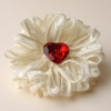 Hearts and Flowers Brooch / Pin