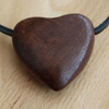 Hand Carved Wooden Hearts