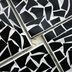 Black and White Random Coasters