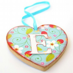 Personalised Heart Decoration