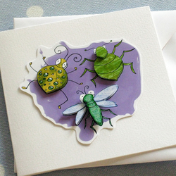 Bug collection Greeting Card
