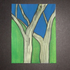 ACEO Two Trees