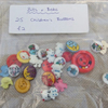 PAY IT FORWARD - 25 Children's Buttons