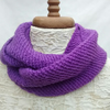 Snood, Ladies Purple Scarf