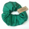 Scrunchie Green Silk