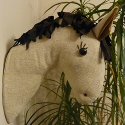 Faux Taxidermy Horses Head