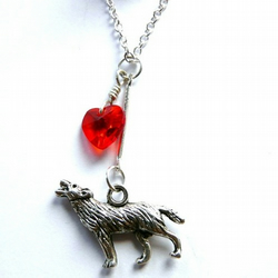 Heart Of A Wolf Necklace
