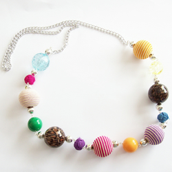 Balls and Chain Necklace
