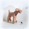 little Milly terrier on wheels