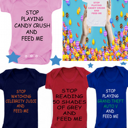BODYSUIT CANDY CRUSH MESSAGE ME for a different slogan