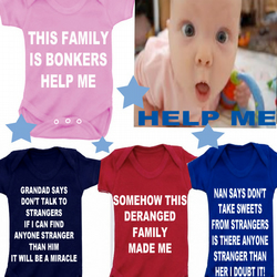 BODYSUIT NANNY SWEETS ETC MESSAGE ME for a different SLOGAN