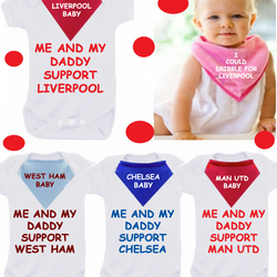 BODYSUIT SET any TEAM  any colour  with dribble bib
