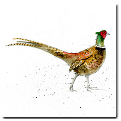 Pheasant Greeting Card - Father's Day Card - Blank inside