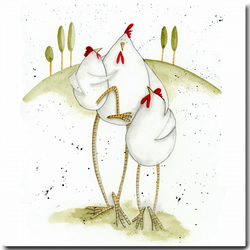 Mother's Day Card: Mama Hen