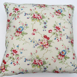 Pretty Sprig Floral Cushion
