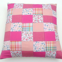 Pretty Patchwork Cushion