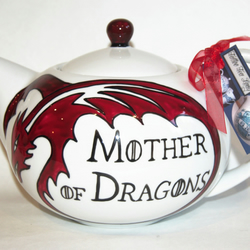 Game Of Thrones Inspired 6 Cup Hand Painted Tea Folksy