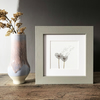 "'Love Wish' 5"" x 5"" Framed print"