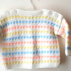 Hand Knitted Sweater Children Baby Boy Girl J Folksy