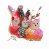 FOR JESSICA  - Set of 6 VINTAGE Lavender Rabbits