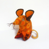 Vintage fabric Retro Mouse