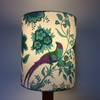Blue Purple Pink BIRD Jonelle Spice Island VIntage fabric Lampshade Option