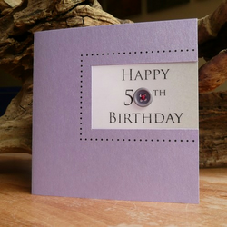 Birthday Button Cards - 10th, 20th, 30th, 40th, 50th ....