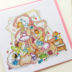 Greeting Card Fairy Ballet