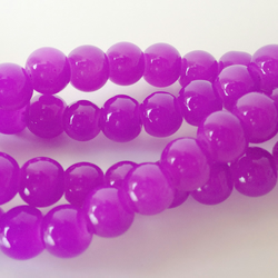 Round glass beads Violet size 6mm. 70,beads ideal for jewellery making