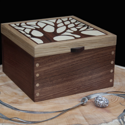 Tree Silhouette Jewellery Box