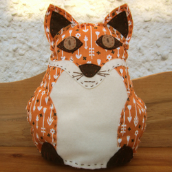 Finagle the Fox sewing kit