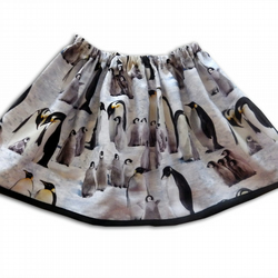 Girls Penguin Skirt