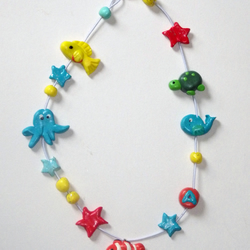 Girls Sea Creature Necklace