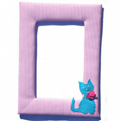 Cat Photo  Picture Frame