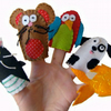 Fun with the Pets Finger Puppets
