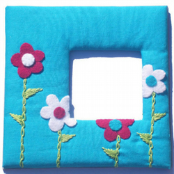 Flower Photo  Picture Frame