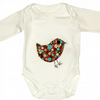 Bird Babygro  Bodysuit