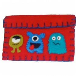 Monster Wallet  Purse