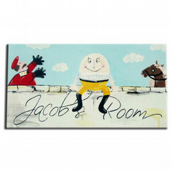 Humpty Dumpty personalised door sign  plaque