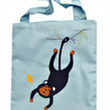 Personalised Monkey Tote Bag