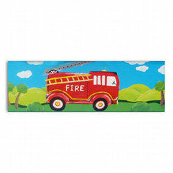Fire Engine Canvas Art